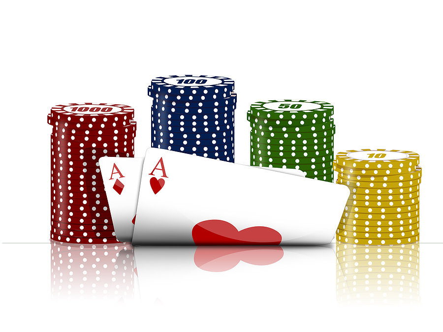 kort och marker Pokertävlingar